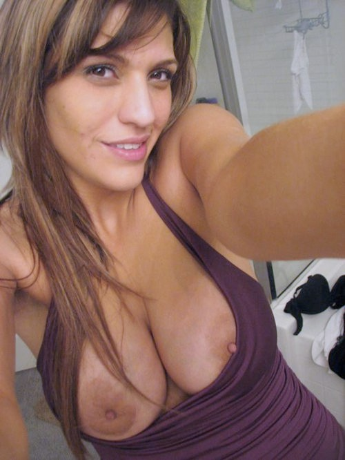 Wife from Montenegro selfshot her tits